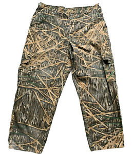 Mossy Oack Hunting Camo Cargo Pants 6 Pocket Size XL