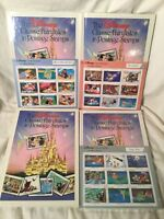 Alice In Wonderland + More Disney Classic Fairytales In Postage Stamps Lot Of 4