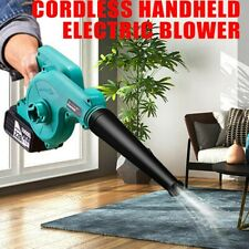 More details for 2 in1 electric air vacuum cordless leaf dust snow blower lightweight w/battery