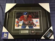 Max Pacioretty Montreal Canadiens 8x10 photo Frame Cadre FACEOFF FREE SHIPPING
