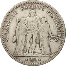 [#450947] France, Hercule, 5 Francs, 1848, Bordeaux, TB+, Argent, KM:756.4