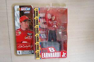 2004 Action/Mcfarlane NASCAR Series 1 DALE EARNHARDT JR figure mip NO sunglasses