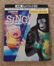 Sing Steelbook (4K Ultra HD/Blu-ray 2-Disc Set)