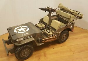 21st Century Toys Ultimate Soldier 1:6 WWII US Willy's Jeep  VERY RARE HTF