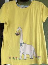 Hanna Andersson Girls Dinosaur  Shirt Size 130