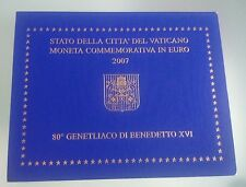 VATICAN 2 EURO 2007 COMMEMORATIVE BU