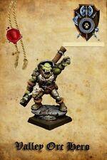 Shieldwolf Miniatures Valle Orco Eroe una con 2 mano Arma