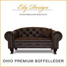 Sofá para Perro cama Ohio Premium XL ANTIGUO café con manta protectora