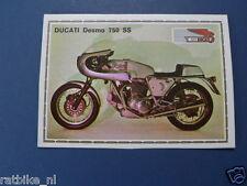 SMP021- DUCATI DESMO 750 SS  PICTURE STAMP ALBUM CARD,ALBUM PLAATJE