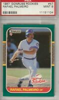 Rafael Palmeiro 1987 Donruss Rookies Chicago Cubs Card #47 Mint 9