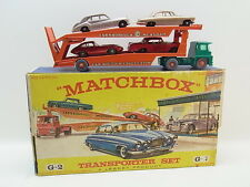 LOT 40447 | Matchbox Giftset G-2 Car Transporter Set 5-teilig mit Autos in Box