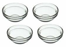KitchenCraft Glass Pinch Bowls  Sauce Pots, 55 ml 2 fl oz Set of 4