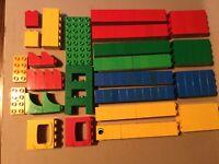 Lego Duplo Bundle Job Lot  Building Brick Block 120 pieces Over 1KG