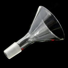90mm,24/29,Glass Powder Funnel 100ml Chemistry Laboratory Glassware WG