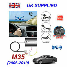 For Infinity M35 Bluetooth Hands Free Phone AUX Input MP3 USB 1A Charger Module