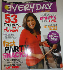 Everyday Magazine Rachael Ray & 53 Recipes You Must Try February 2008 122914R