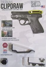 Clipdraw IWB Belt Clip for Smith & Wesson M&P Shield SHLD-B Concealed Carry