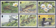 Jersey 2001 Europa - Water - Pond Life Set UM SG991-6 Cat £6.00