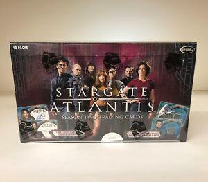 Stargate Atlantis Season Two - Sealed Trading Card Hobby Box - Season 2, 2006