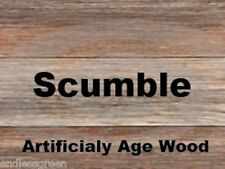 Scumble Crystals - to create aged effect on wood, ideal for antique repairs 100g