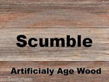 Cristaux scumble-pin âges pour ressembler à chêne bois idéal les conseils de plancher poutres 100g