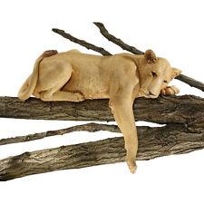 Regal Lioness Garden Sculpture Feline Big Cat Yard Decor African Queen of Beasts