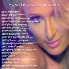 Promo Compilation DVD, 40 Top Club & Euro Dance Hits October 2013  ONLY  on Ebay