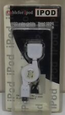Ipod Retractable IEEE 1394 6 Pin Charging Cable