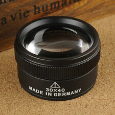 IC- 30X Optical Glass Lens Loupe Magnifier Glass for Jewelry Coins Stamps Utilit