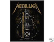 metallica - Hetfield Guitar - WOVEN  PATCH - free shipping