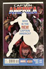 Captain America #25 2nd Print 2014 1st Sam Wilson As Captain America. Falcon
