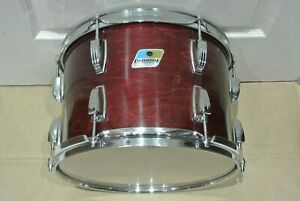 """80's LUDWIG Chicago Era 13"""" CLASSIC TOM In RED MAH*GANY for YOUR DRUM SET! S620"""