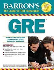 Barron's GRE: Graduate Record Examination (Barron's: The Leader in Test Preparat