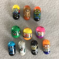 Mighty Beanz Lot of 10 Assorted 2010 Moose 2004 Ja-Ru