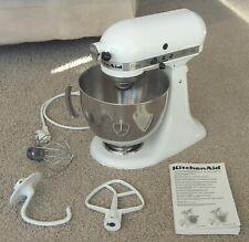 KitchenAid Classic White Küchenmaschine mit großer Rührschüssel (5KSM45EWH)