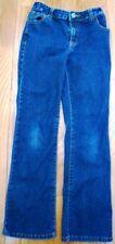 Faded Glory Blue Denim Stretch Waist Jeans Girl's Size 10