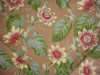 2-1/4Y Scalamandre T7 00031911 Passonia Flowering Branch Print Upholstery Fabric