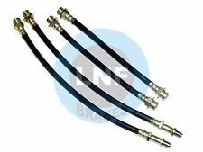 CHEVY CORVAIR 500 Hardtop Sport Coupe BRAKE HOSE FRONT REAR SET X4 1965-1968