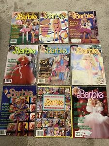 Barbie Magazine The Magazine For Girls 1988 - 1993 Lot of 16