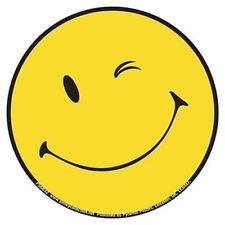 SMILEY WINK - Aufkleber Sticker - 9,5x9,5cm