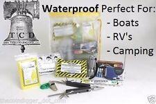 Survival Emergency Kit WATERPROOF MAYDAY Food Water Flashlight Radio First Aid