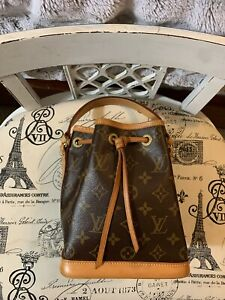 Vintage Louis Vuitton Monogram Mini/Nano Noe Bucket Bag