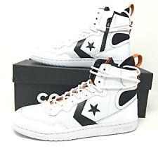 Converse Fastbreak High Mens High Top Shoes White/Black/Orange Size 8.5 162559C