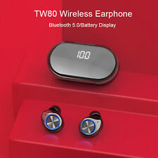 New listing Bluetooth Headsets Tws Wireless Earphones Earbuds Stereo For iPhone Android