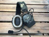 Z Tactical Comtac 1 Style Military Communication Headset Noise Reduction - Z054