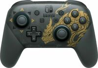 Official Nintendo Switch Pro Controller - Monster Hunter Rise Edition New