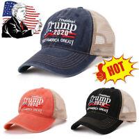 Donald Trump 2020 Cap USA Flag Baseball Hat MAGA Cap Make America Great USA