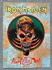 More details for iron maiden fear of the dark 1992 concert programme