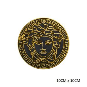 Medusa Head Special Sew on Iron on Embroidered Patch Badge For Clothes etc