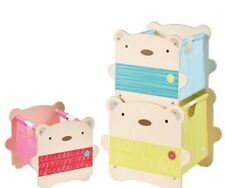 BearHug Stacking Kids Toy Bedroom Storage Boxes by HelloHome